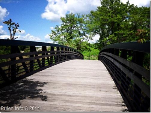 Bridge on sunny day